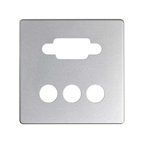 Placa para conector VGA + 3RCA