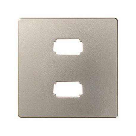 Placa para conector 2xUSB 2.0 tipo A