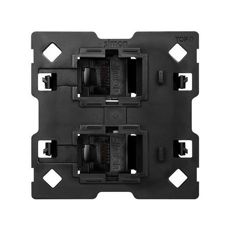 Adaptador para 2 conectores RJ45 2M