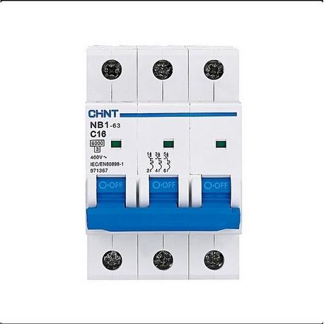 Interruptor automático 3P 50A C 6kA