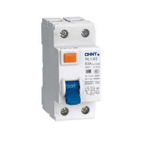 Interruptor diferencial 2P 63A 300mA clase AC 6kA