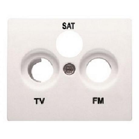 TAPA TOMA R/TV-SAT (3 SALIDAS)