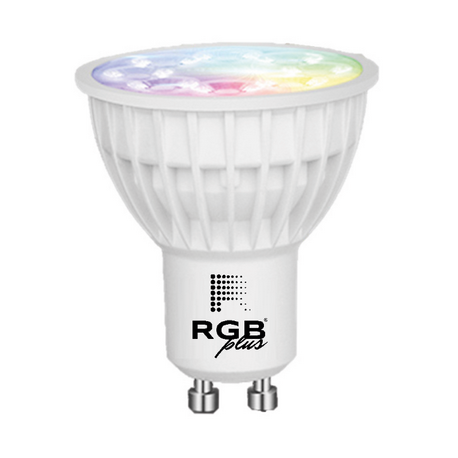 Lámpara GU10 SMART 4W RGB+CCT 280Lm 25grados IP20
