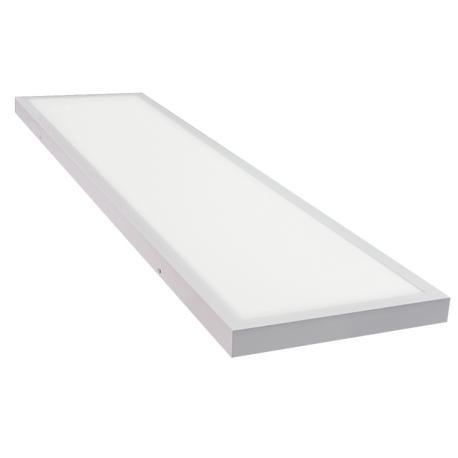Panel LED superficie 120x30 48W 220V 3840Lm NEUTRO