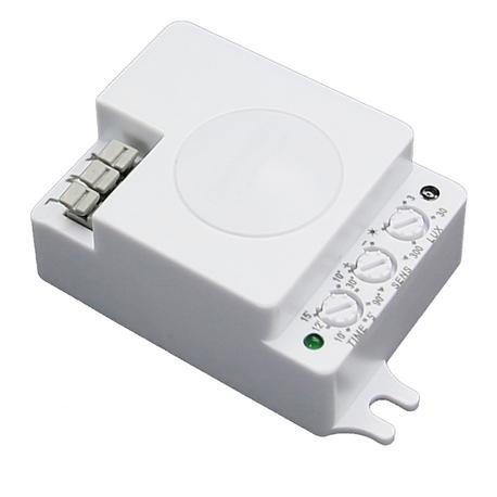 Sensor MICROONDAS interior MÓDULO CUADRADO 360grados IP20