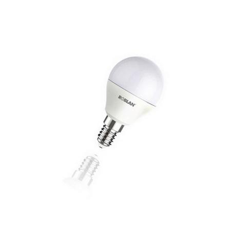 Bombilla LED ESFÉRICA ECO 5W E14 Roblan