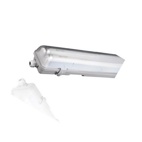 Pantalla Estanca 1xT8 LED 150cm Roblan