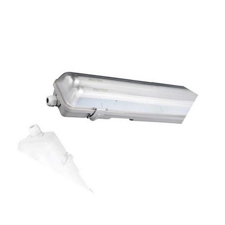 Pantalla Estanca 2xT8 LED 60cm Roblan