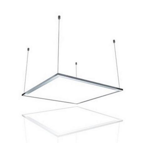 Kit suspensión  panel LED 600X600mm Roblan