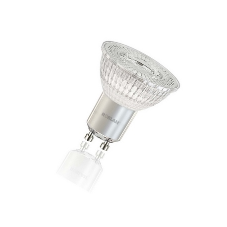 Dicroica LED Transparente 4,3W 3000K 110º