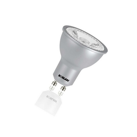 Bombilla LED DICROICA DIMABLE regulable SKY PRO 7W GU10 Roblan