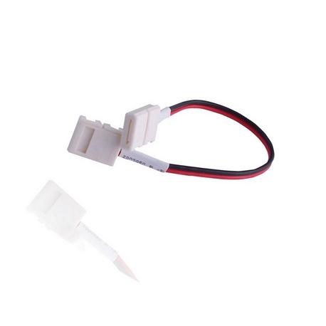 """Conector rápido para Tiras Led en forma de T"""" 8mm"""""""