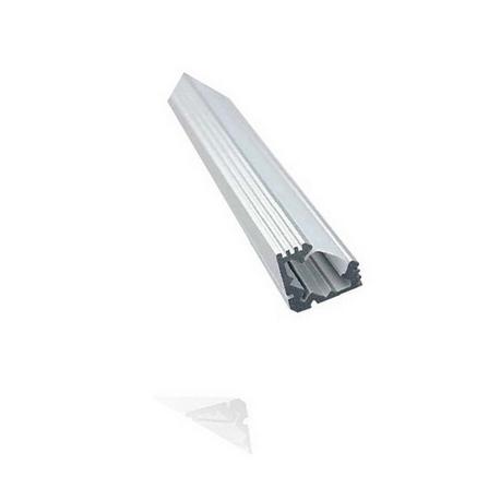 Perfil de Aluminio Modelo AP1417 100 cm 14x17mm Roblan