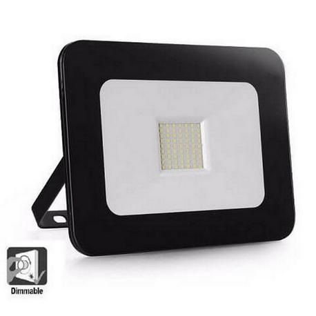 Foco Proyector Exterior LED Luxury 30W Negro
