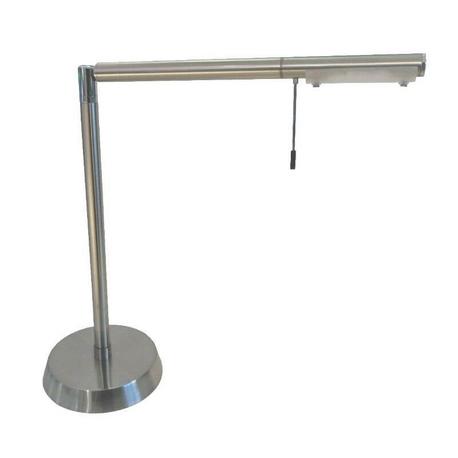 Lámpara de acero para mesa 3W G9