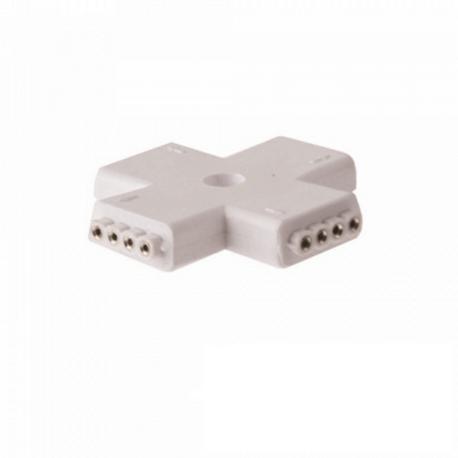 Conector en cruz universal RGB para Tira LED