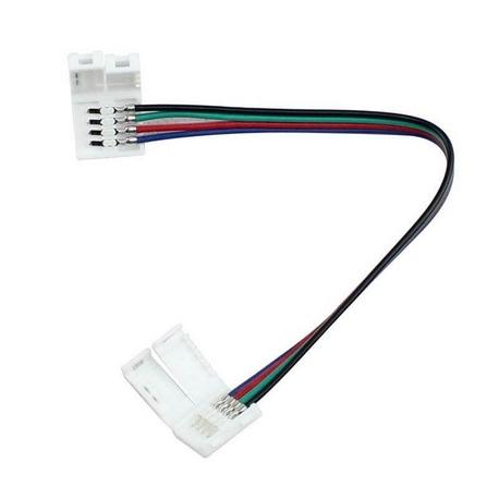 Conector tira LED RGB IP20